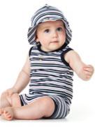 出産祝いベビー服Dimplesマリン