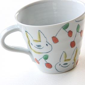 村田菜穂美 カフェオレカップ